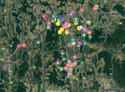 Interaktív Google térkép Zalaszentgrót térségéről